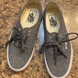 Vans Glitter Lace-Up Sneakers